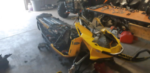 2012 skidoo xp xrs800 chassis