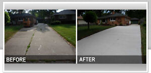 CONCRETE DRIVEWAYS PATIOS POOL DECKS www.aclandscaping.ca Windsor Region Ontario image 7
