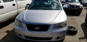 2007 Hyundai sonata parts
