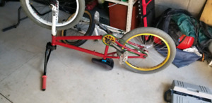 BMX solid bike