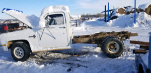 Project 87 chevy dually 2 wheel drive open to trades