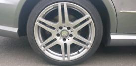 Mercedes e class genuine amg alloy wheels 18 inch