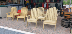 Pressure treated timber garden furniture & benches