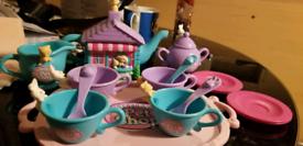 littlest pet shop tea set