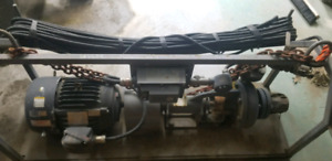 2x3 Mission pump and 15hp motor