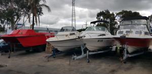 Trade assistant boat repair shop