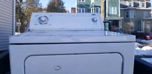 Front loading dryer
