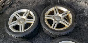 "Roues Audi oem split spokes 17"""