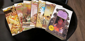 The Chronicles of Narnia, all 7 books