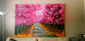 Acrylic painting 48 x 72 in