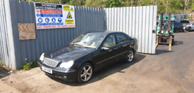 Breaking for spares Mercedes c270 2.7 2004