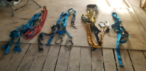 4 x Safety Harness with Lanyard