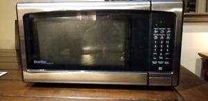 Danby designer stainless steel microwave