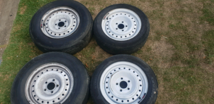 15 inch steel rims and tyres Redland Bay Redland Area Preview