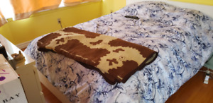 Double Bed Mattress with Frame