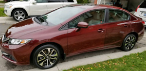 Great condition 2014 Honda Civic Ex with Sunroof