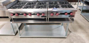 COMMERCIAL GRIDDLES, GRILLS AND HOTPLATES