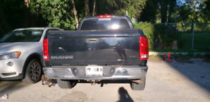 2004 Black Dodge Ram 1500 Quad Cab RWD