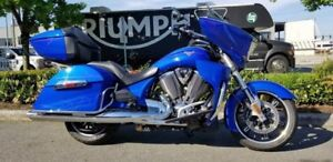2013 Victory Motorcycles Cross Country Tour Boardwalk Blue