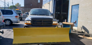 2004 dodge dakota v8 4.7 4x4 sport snowplow snow plow blade