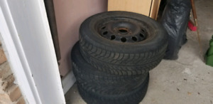 """Winter tires with rims 14"""""""