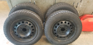 Four Winter Tires in Good Shape 195/65r15