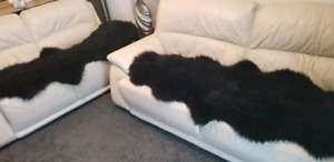 Sheepskin Couch Rugs