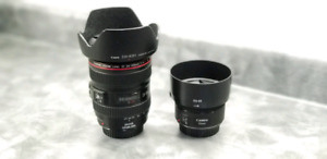 2 Canon lens for sale (Mint Condition)