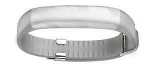 Jawbone UP2 Activity Tracker, Thick Strap (Light Grey Hex)
