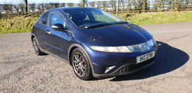 2006 HONDA CIVIC 2.2 CDTI SE DIESEL MOTED TO DECEMBER POSSIBLE PART EX