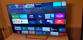 "Sony 65"" smart wifi android 3d led tv"
