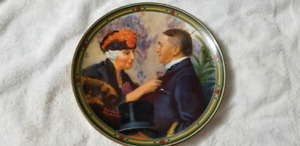 NORMAN ROCKWELL PLATES COLLECTORS ITEM 22 S