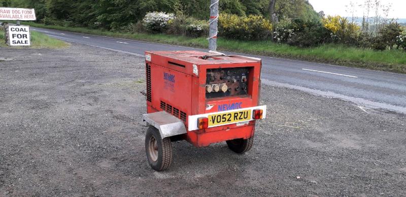 Diesel towable welder generator | in Arbroath, Angus | Gumtree