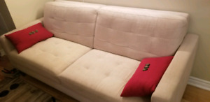 Sofa 3 Seater (Color Beige)
