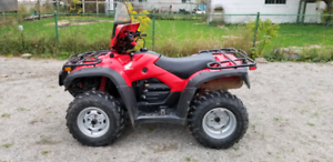 2011 honda foreman rubicon power steering