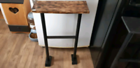 Handcrafted wall/ entryway table