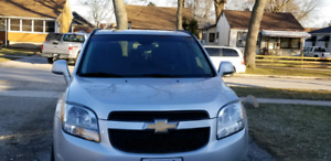 2012 CHEVY ORLANDO- COMES WITH SAFETY, LOW KM's