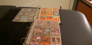 Huge pokemon card collection.