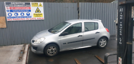 Breaking for spares Renault clio 1.2 2006