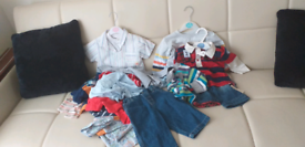 Brand new boys bundle 6 to 9 month's