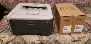 Brother HL-2140 Monochome Laser Printer (with Extra Toner)