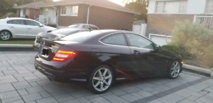 Mercedes-Benz c350 4matic coupe 2012 AMG