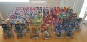 Lot de 37 Amiibo Neuf : Zelda - Smash - Super Mario