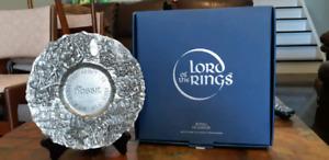 The Hobbit Commemorative Pewter Plate