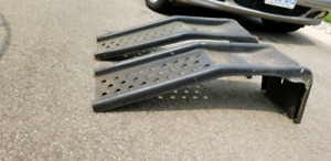 Car ramps great condition, thick steel best for smaller vehicles