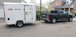 truck for hire/moving services