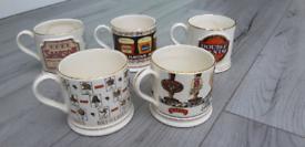 Vaux Comemorative Mugs