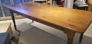 Table antique ferme  harvest antique table