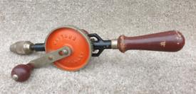 Hand drill Stanley No803 vintage woodwork