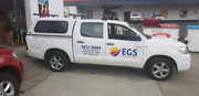 Toyota Hilux SR 4x2 manual Glebe Hobart City Preview